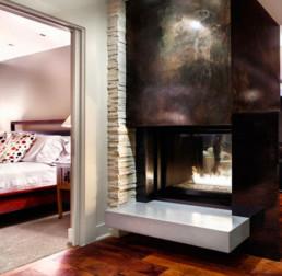 Montigo gas fireplace