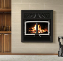 Enerzone wood fireplace