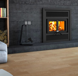Osburn wood fireplace
