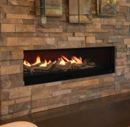 Woodbridge gas fireplace