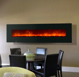 Dynasty electric fireplace