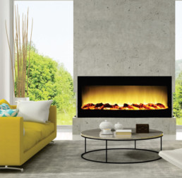 TöSO electric fireplace