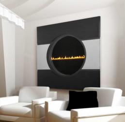Heat & Glo gas fireplace