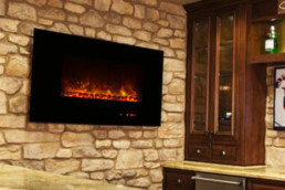 Modern flames electric fireplace am43