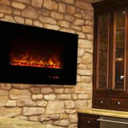 Modern flames foyer électrique al43