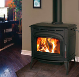 Blaze King wood stove