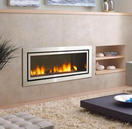 Regency gas fireplace