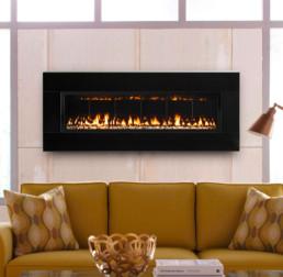 Solas gas fireplace