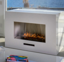 Spark gas fireplace