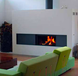 STÛV wood fireplace