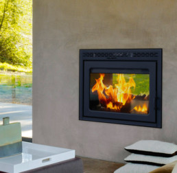 Suprême wood fireplace