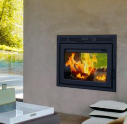 Suprême wood fireplace